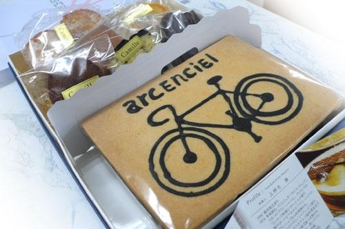 アルカンシェルのケーキ